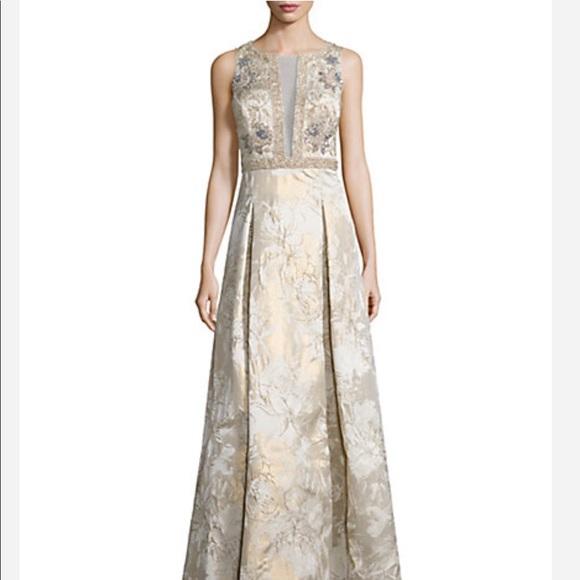 69% off Aidan Mattox Dresses Sale Sleeveless Beaded Gown | Poshmark
